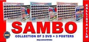 Sambo Wrestling(3 POSTERS) + 3 DVD.