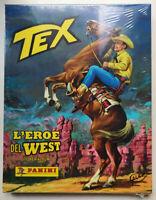 Album di Figurine TEX L'EROE DEL WEST Cartonato BLISTERATO Cartolina Bustine
