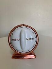 Vintage Mirro Matic Kitchen Timer Copper Colored