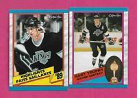 2 X 1989-90 OPC  LA KINGS WAYNE GRETZKY  NRMT-MT CARD (INV# C2398)