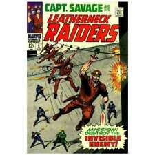 Captain Savage and His Leatherneck Raiders #5 in F cond. Marvel comics [*xu]
