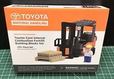 Toyota Material Handling/Forklift Building Block Set
