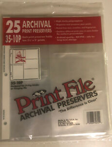 """70 Preowned Photo Sleeves for 3 Ring Binder - 3.5"""" X 5"""" Photos, Archival"""