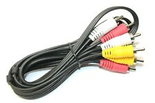 Male to Male RCA Jack Audio Video Cable Cord for Game Console CD DVD Players