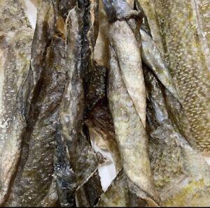 Dehydrated Cod Skins Dog Treats