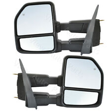Towing Mirrors for 2015-2020 Ford F150 Pickup Power Heated Signal Sensor 8 Pin