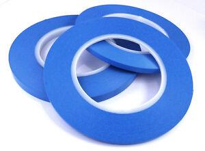 Acrylic Fine Line Masking Tape High Temperature 3mm x 55m Fineline for Bodyshop