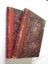 AMEDEE LE FAURE HISTOIRE de la GUERRE FRANCO-ALLEMANDE 1870-71  en 2 VOLUMES
