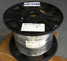 1,000 Ft Belden 1855A Black RG59 Sub-Mini 23 AWG Solid Coax OVERSTOCK CLEARANCE