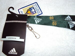 NCAA Notre Dame Fighting Irish Leprechaun Lanyard with Detachable Buckle 1-Inch