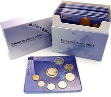 Original Box der Staatl. Münze Stuttgart mit 10 Kurssätzen der EU-Erweiterung