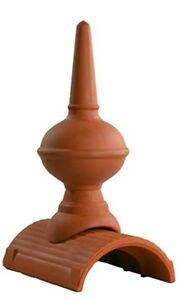 Dachschmuck, Firstdorn, firstspitze, groß, 46 cm naturrot oder Farbe anfragen