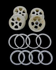 Wheel Rim Beadlock Ring Set Nylon Plastic for 1/5 RC HPI Baja 5B