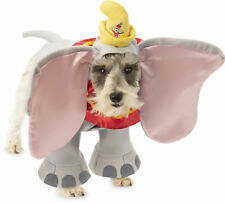 Disney Dumbo The Elephant Pet Dog Costume Circus Clothes Dress Up SM-XXL