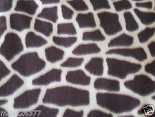 NEW POLAR fleece  ANIMAL GIRAFFE print fabric one cut of 1 yard