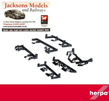 Herpa 053679 Accessory Truck Mirror Volvo/Scania/Mercedes (5 of Each) 1:87 Scale