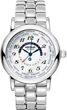MODEL: 106465 | BRAND NEW MONTBLANC STAR WORLD TIME GMT 41.5MM LUXURY MENS WATCH