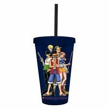 One Piece Straw Hat Crew Anime Tumbler Travel Cup