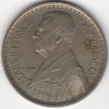 1947 Monaco 20 Francs***Collectors***
