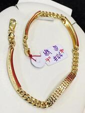 SOLID 18k Saudi Gold Bracelet - 7 inches /4.4 g