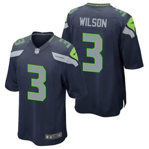 Seattle Seahawks Nike Jersey Men's NFL Home Game Jersey - Russel Wilson - New