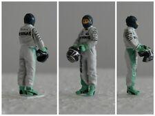 Nico ROSBERG Mercedes 2016 figurine pilote diorama 1/43 F1 driver figure