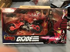 "GI Joe Classified Baroness 6"" Coil Bike Target Cobra Island NIB New!!"