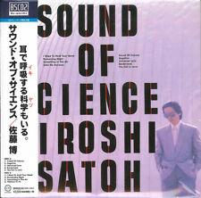 SATO HIROSHI-SOUND OF SCIENCE-JAPAN MINI LP BLU-SPEC CD2 BONUS TRACK G22
