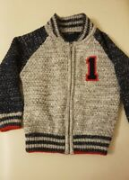 Kids cardigans, jumper, 2 to 3 year old boys thick warm jumper, George asda