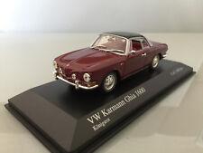1:43 Minichamps VW Karmann Ghia 1600 , 1966 , Königsrot