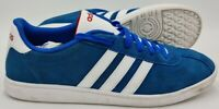 Adidas VL Court Low Suede Trainers F99258 Blue/White/Red UK10.5/US11/EU45