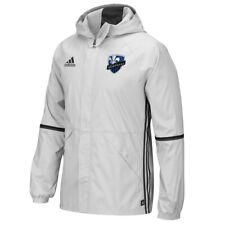 Montreal Impact MLS Adidas Men's Team Crest Clear Onix Grey Training Rain Jacket