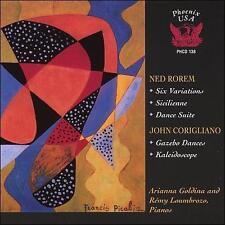 ROREM: SIX VARIATIONS; SICILIENNE; CORIGLIANO: GAZEBO DANCES; KALEIDOSCOPE NEW C