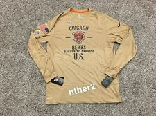 2019 Chicago Bears Nike Salute to Service Dri-Fit Long Sleeve Shirt ALL SIZES LS