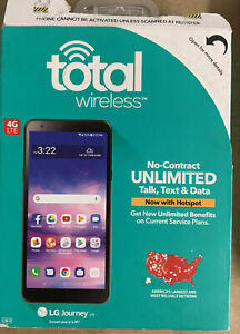 ✅ Total Wireless Prepaid LG Journey (16 GB) - Black ‼️PREOWNED‼️