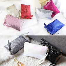Ladies&Girls Chain Clutch Purse Handbag Shining Sequins Messenger Shoulder Bag