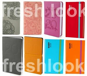 2020 Diary Slim Or Pocket  Size Week to View Information 2020 Diaries Full Year
