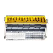 """El Catire"" Domino Set with Racks - Yellow"