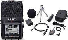 Zoom H2n Aufnahmegerät mit Windschutz