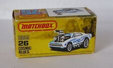 Repro Box Matchbox Superfast Nr.26 Cosmic Blues