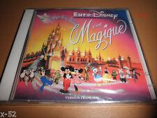 Euro Disney EURODISNEY c'est MAGIQUE (French Version) CD disneyland europe