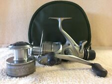 Shimano Aero GTE B 8000 Baitrunner Reel cw Spare Spool (Overhauled & Serviced)