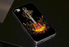 Bass Guitar Hard Phone Case Fits iPhone 4 4s 5 5s 5c 6