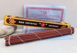 Red Crystal Tibetan Incense Stick