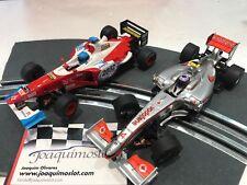 SCALEXTRIC  LOTE 2 F1 SUPER REBAJADOS!!!!!!!!. ENVIO GRATIS!!!!!