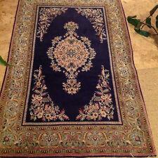 echter handgeknüpfter Perserteppich Ghom carpet rug alfombra tappeto tapis soie