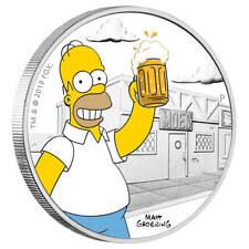 Tuvalu - 1 Dollar 2019 - Homer Simpson™ - Die Simpsons™ (1.) - 1 Oz Silber PP