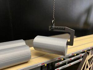 1/50 Concrete Culvert Lifting Beam Spreader Bar In Black