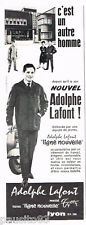 PUBLICITE ADVERTISING 085  1961   Les vetements de travail ADOLPHE LAFONT
