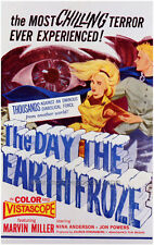 THE DAY THE EARTH FROZE Movie POSTER 27x40 Andris Oshin Nina Anderson Anna
